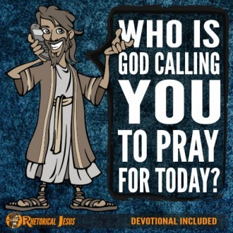 Who is God calling you to Pray for today?