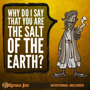 Why do I say that you are the salt of the earth?