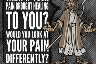 What if your pain brought healing to you? Would you look at your pain differently?