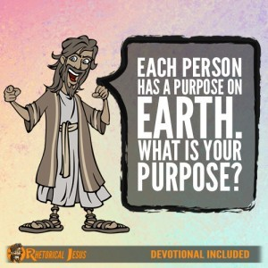 Each person has a purpose on Earth. What is your purpose?