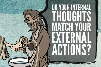 Do Your Internal Thoughts Match Your External Actions?