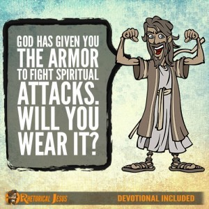 God has Given You the Armor to Fight Spiritual Attacks. Will You Wear It?