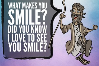 What Makes You Smile? Did You Know I Love To See You Smile?
