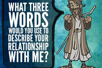 What Three Words Would You Use To Describe Your Relationship With Me?