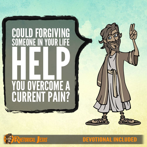 Could forgiving someone in your life help you overcome a current pain?